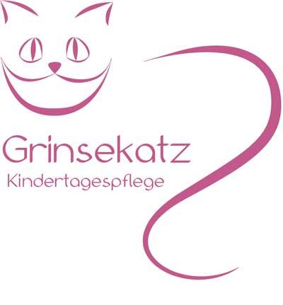 Kindertagespflege Grinsekatz Logo
